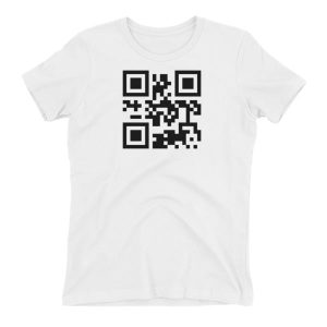 QR code Happily taken Women's T-shirt