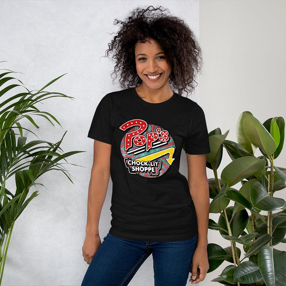 Pop's Chock'lit Shoppe Shirt black
