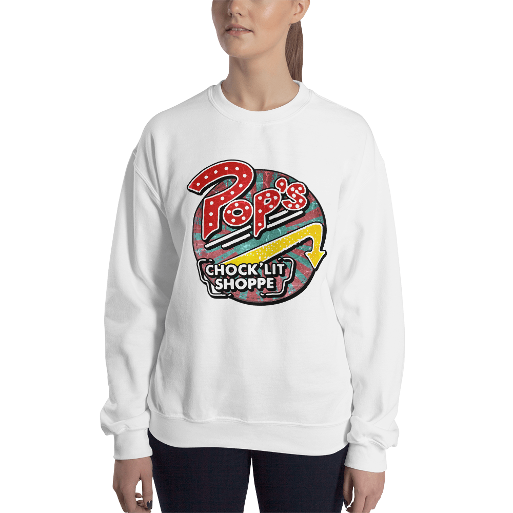 Pops Chocklit Shoppe Sweatshirt women