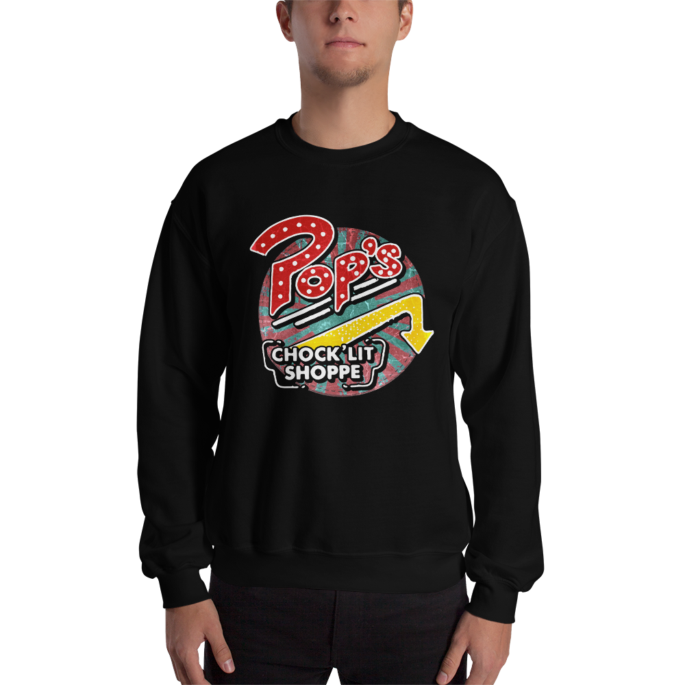 Pops Chocklit Shoppe Sweatshirt black